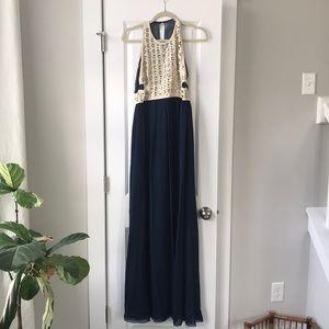 Silk DVF Gown